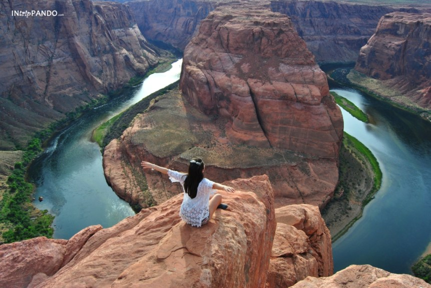 L'incredibile panorama dell'horseshoe bend