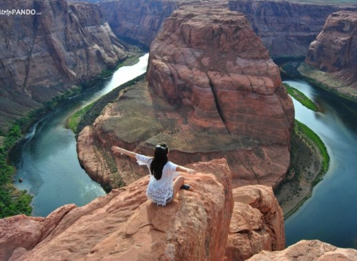 L'incredibile panorama dell'horseshoe bend