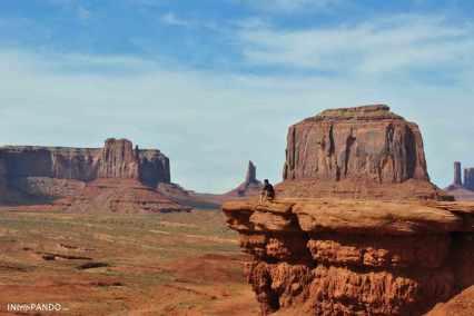 Lo straordinario panorama della Monument Valley