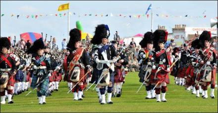 Highland games Scozia