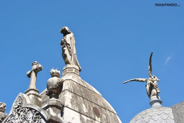 Cimitero monumentale della Recoleta a Buenos Aires