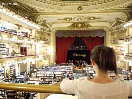 El Ateneo, teatro riconvertito in libreria a Buenos Aires