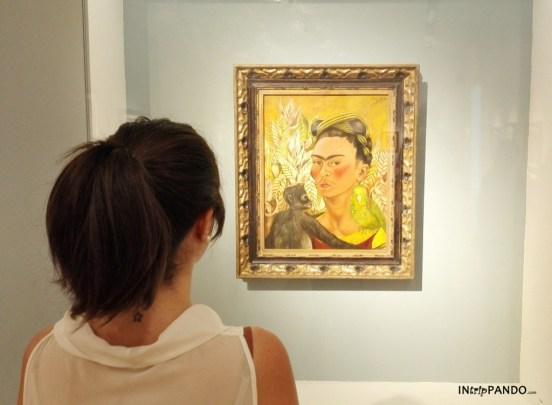 Autoritratto di Frida Kahlo al MALBA di Buenos Aires