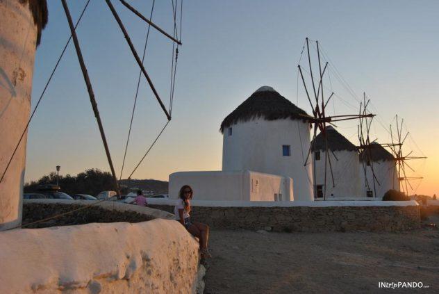 Mulini a vento di Mykonos