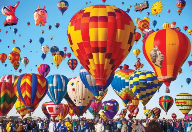 Festa mongolfiere a Albuquerque