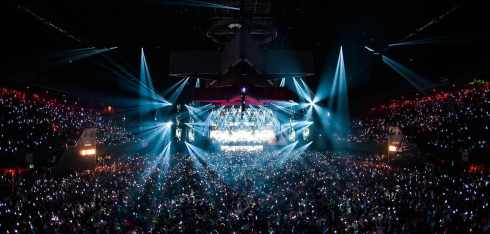 Musica elettronica all'Amsterdam dance event