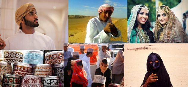 Abiti tipici in Oman