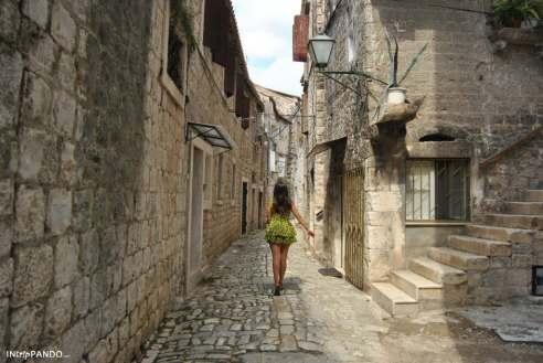 Vie del centro storico di Trogir