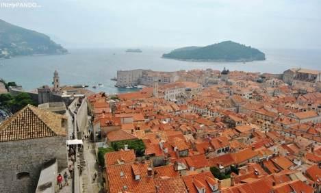 Vista di Dubrovnik