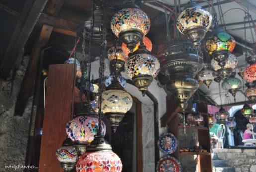 Particolare lanterne a Mostar