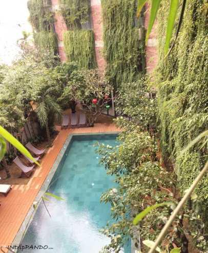 piscina dell'Atlas Hotel a Hoi An