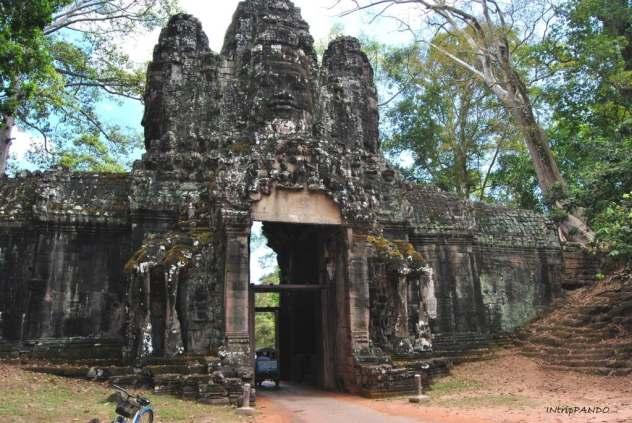 porta di ingresso Angkor Thom