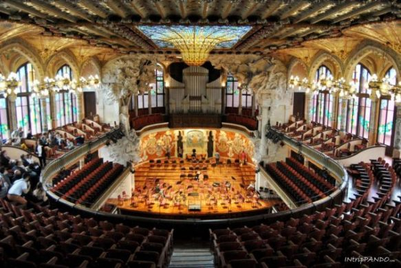 Palau de la Musica Catalana a Barcellona