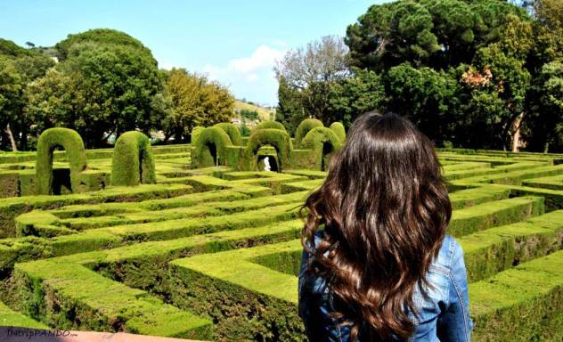 Labirinto del Parc del Laberint d'Horta a Barcellona