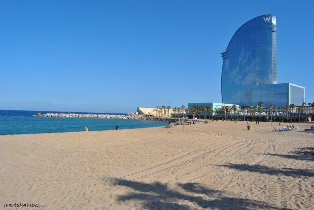 vista Barceloneta a Barcellona