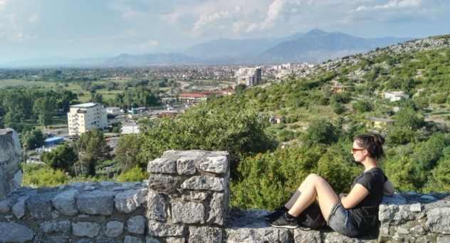 Panorama Scutari in Albania