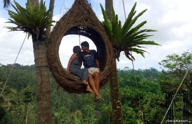 Nido nella giungla a Bali Swing
