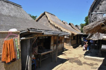 Tipiche case sesak a Lombok