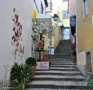 Vie del centro storico di Sintra