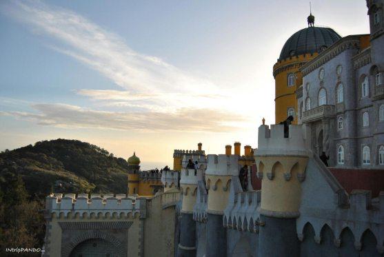 Palacio da Pena al tramonto