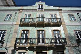 Edifici colorati di Lisbona