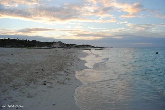 Tramonto sulla spiaggia di Cayo Santa Maria