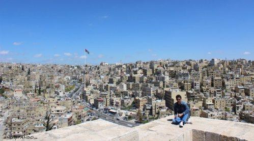 Panorama Amman dalla Cittadella
