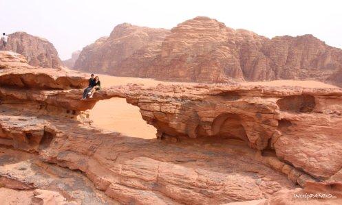 Formazioni rocciose nel Wadi Rum