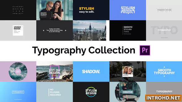 Download VIDEOHIVE TYPOGRAPHY ESSENTIAL - FOR PREMIERE PRO » Free ...