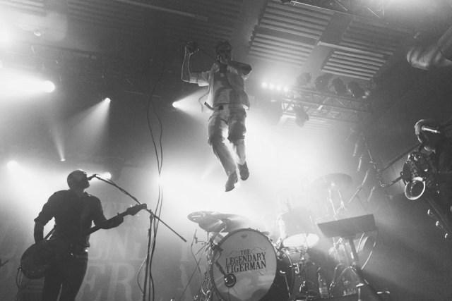 Concerto de The Legendary Tigerman, de apresentação do novo álbum Misfit (2018), apresentado no Hard Club a 2 de Março de 2018