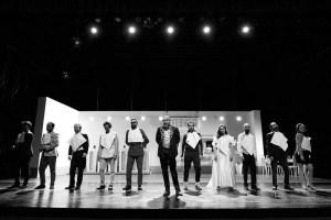 Crítica da peça Timão de Atenas, de William Shakespeare, com encenação de Nuno Cardoso/Ao Cabo Teatro, apresentada no Rivoli a 13/04/2018.