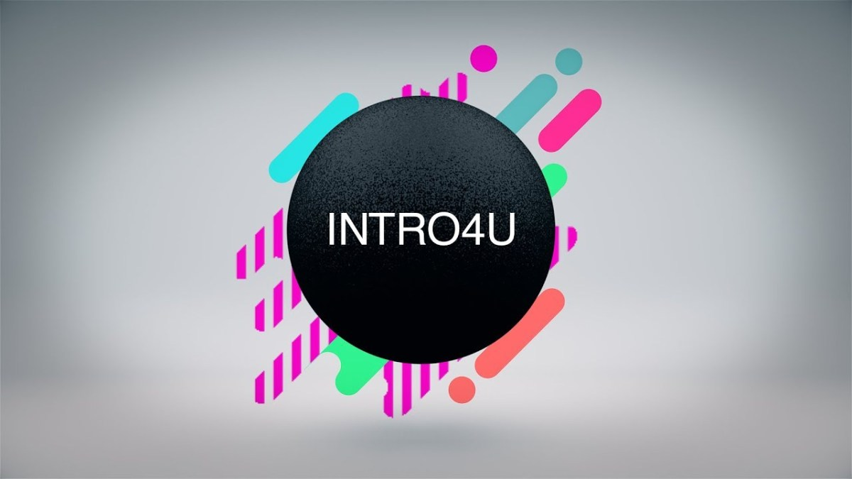 Abstract Intro Template в Sony Vegas Pro 13