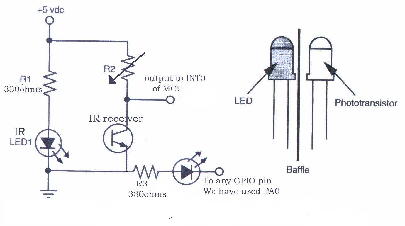 Como Conectar Um Sensor De Fotodiodo Ir Circuito Download