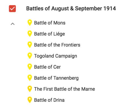 Crisis Aug and Sept 1914