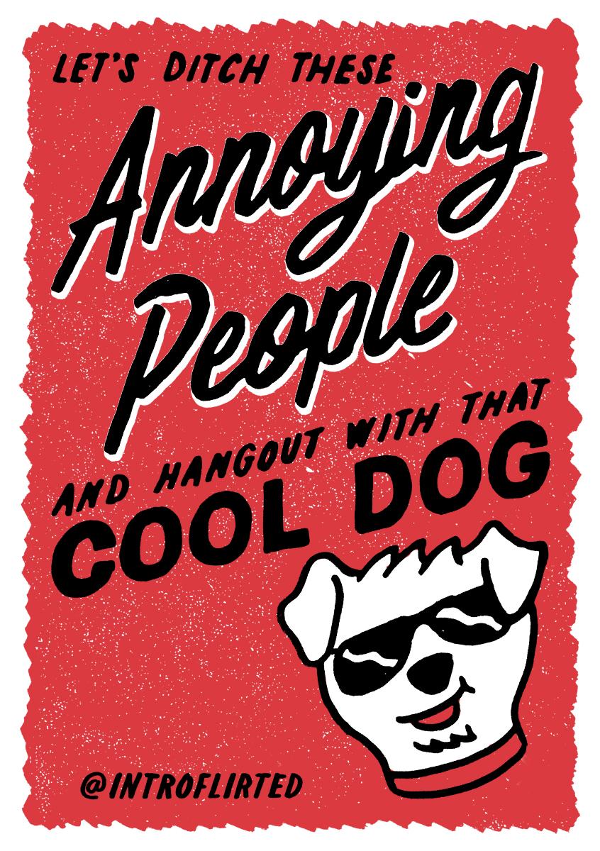Introflirted #24 Cool Dog by Josh Higgins