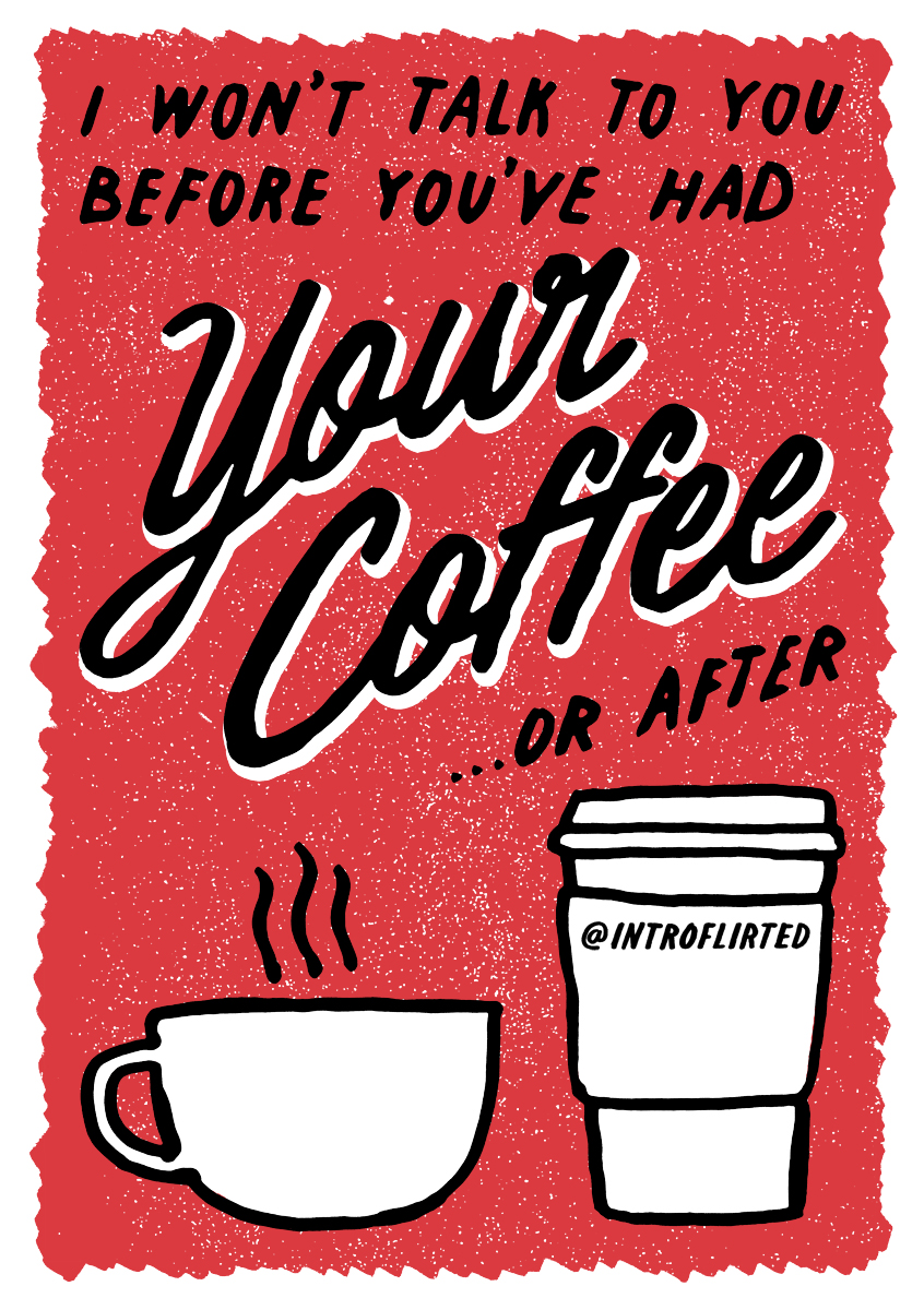 Introflirted #30 Coffee by Josh Higgins