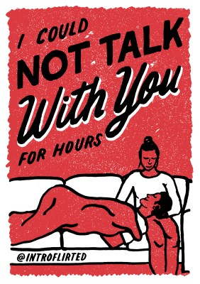 Introflirted #33 Not Talk
