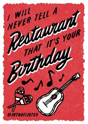 Introflirted #38 Birthday Restaurant by Josh Higgins