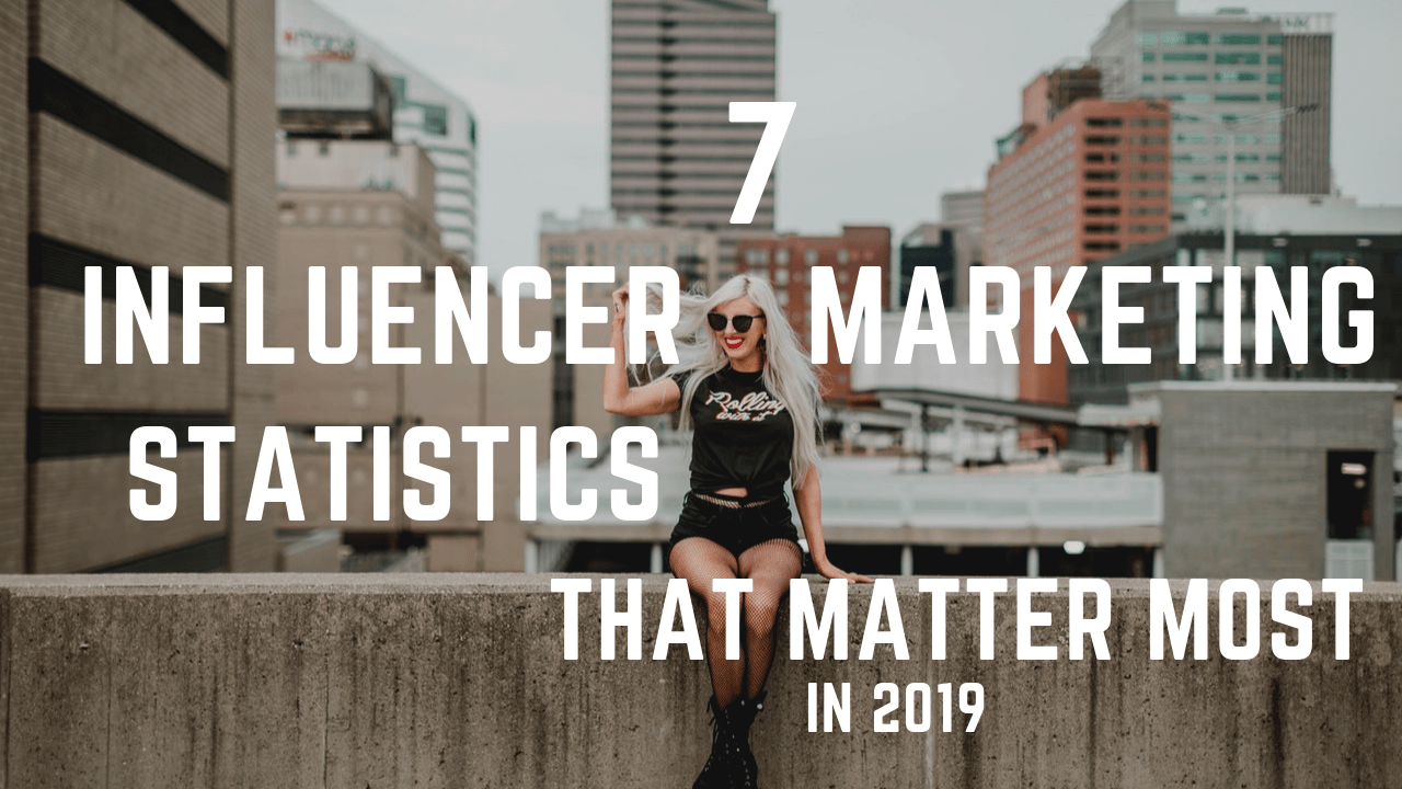 Influencer Marketing Infographic 2019
