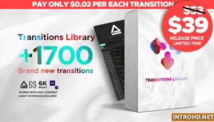 VIDEOHIVE MODERN TRANSITIONS | FOR PREMIERE PRO » Free after