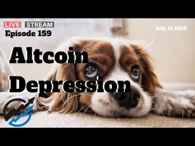Altcoin Winter Depression – Bitcoin Dominance Threatens DEEPER Freeze | July 11 2019