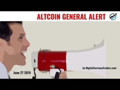Altcoin Capitulation Lows Are In As Bitcoin Dominance Tops | June 27 2019