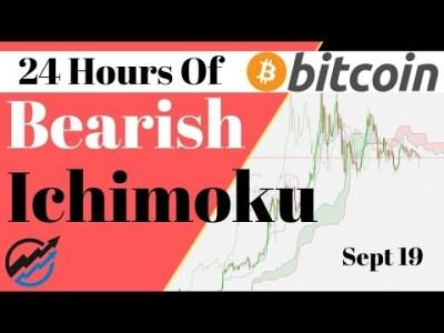 Bitcoin Bearish Ichimoku and MACD say $7500 or $17500!!    Thursday Sep 19/19