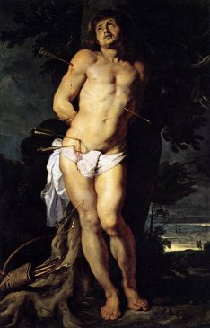 Figure 10 - Peter Paul Rubens, Saint Sebastian, 1614.
