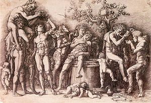 Bacchanal with a Vat