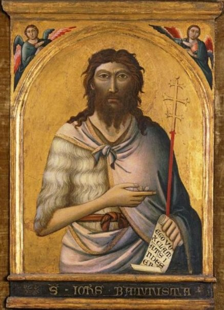 Figure 12 - Workshop of Jacopo del Casentino, Saint John the Baptist, c. 1330.