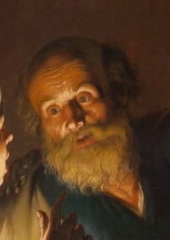 The Denial of Saint Peter (1620-25, detail), by Gerard Seghers