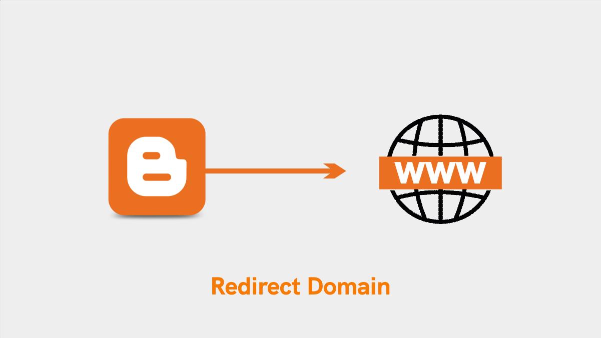 redirect domain blogspot