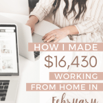 February 2020 Freelance and Blogging Income Report