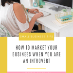 Business Marketing Tips for Introverts